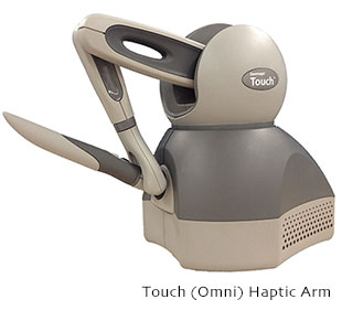 Geomagic Touch (Omni) 3D Stylus Haptic Device