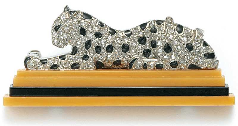 French Jewelry Cartier Panther Brooch 014 UNC 1484x787