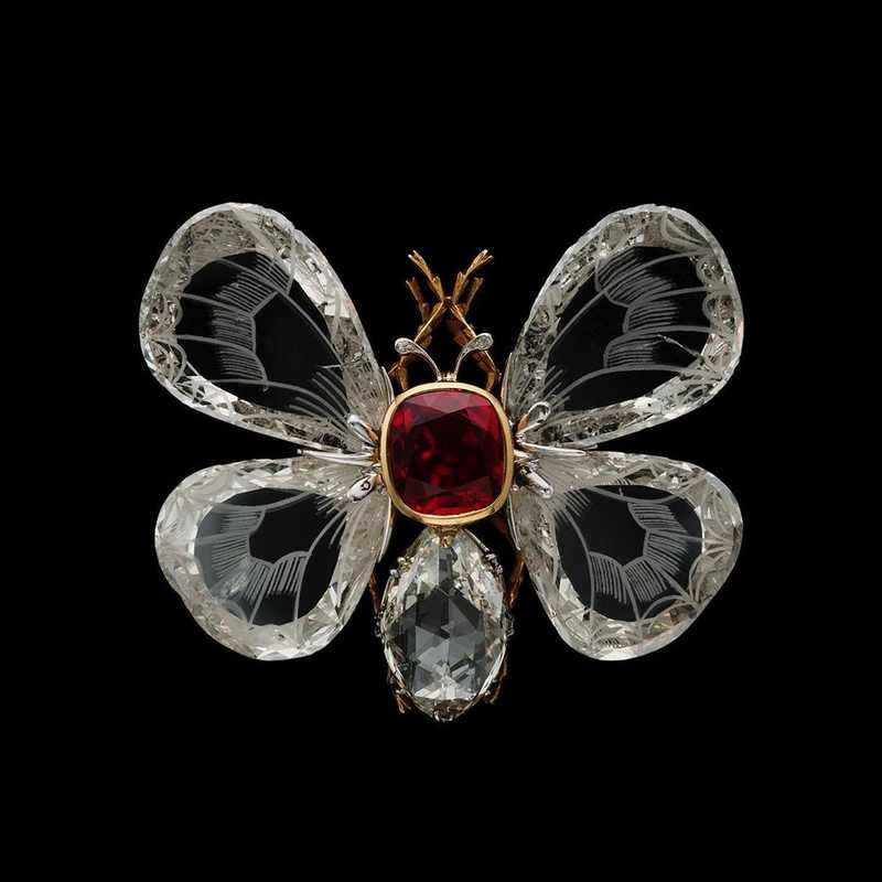 French Jewelry Frederic Boucheron Butterfly Brooch UNK 1080x1080